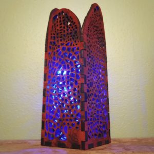 Petit Dragonfly Wing lamp by Tona Wiliams