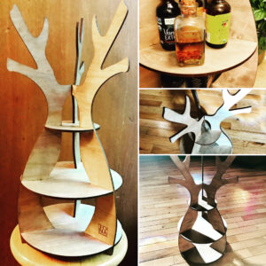 Antler Shelves by Tona Williams